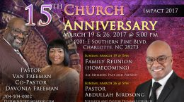 Emmanuel World Evangelistic Outreach 15th Church Anniversary
